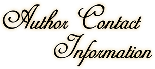 Author Contact Information